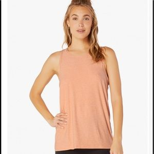 Beyond Yoga Lightweight Crossed Tank